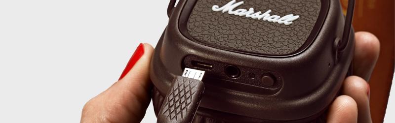 наушники Marshall Major Ii Bluetooth Brown Sound Beats